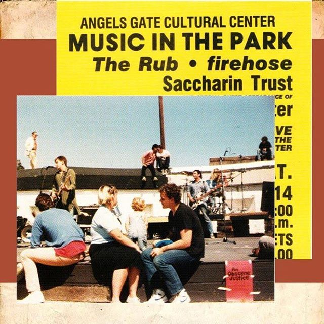 "We are THRILLED to announce our partnership with Angels Gate Cultural Center for our Adobe Punk concert reading and post-panel discussion in MARCH 2020! Angels Gate has been a historic site for the San Pedro punk music scene and an important cultural center providing artists and musicians  like Mike Watt (Minutemen, fIREHOSE) spaces to work. • • • • Photos from ""History of San Pedro Punk (AGCC and Michael Astor) and from our fantastic visit with Director Amy Eriksen. #ADOBEPUNKTUESDAY #angelsgateculturalcenter #adobepunk #aboutpd #aboutproductions #punk #punkmusic"