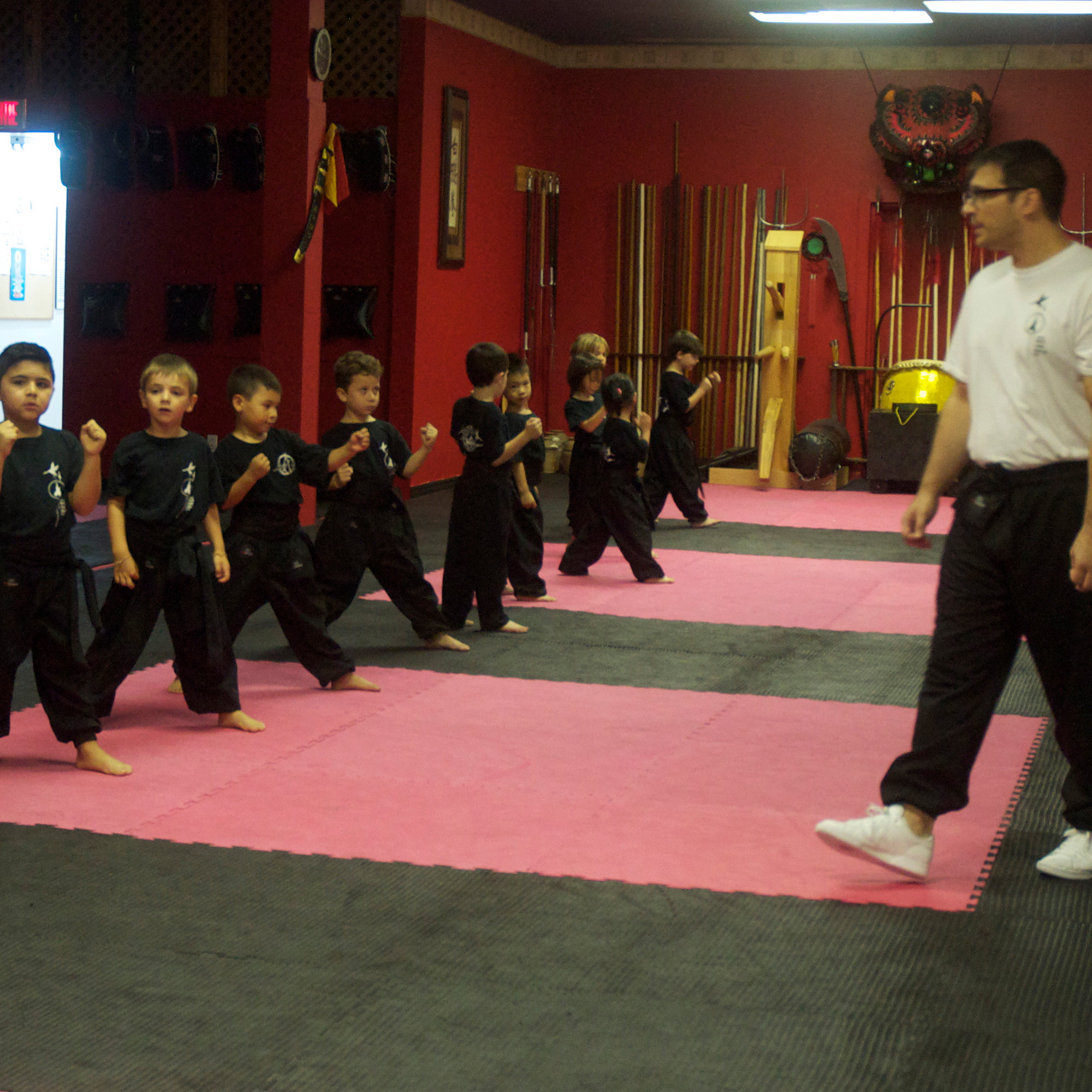 Children 4-6class - Our programs for young children aims to develop solid bases through an introduction to traditional martial arts.