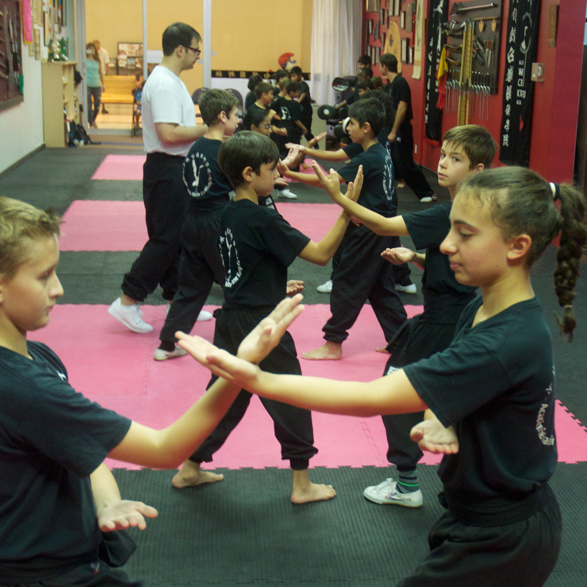 CHILDREN 7+class - The primary goal of our program for children is to help personal development through traditional martial arts.