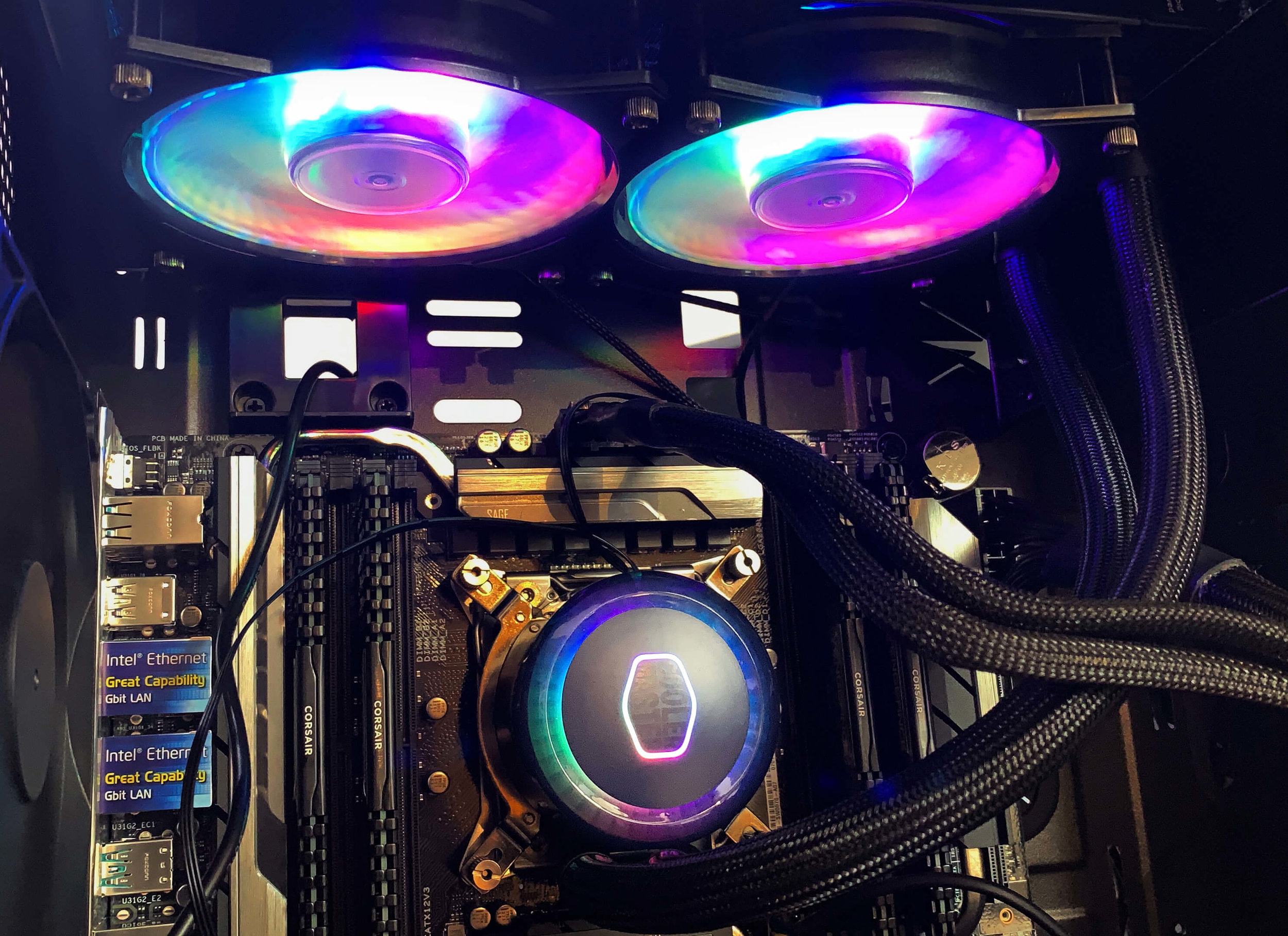Custom-Built Computers - We build our custom computers right here in the shop and only use top-tier, carefully selected components, researched and tested for compatibility, reliability and performance. We're so confident in our builds that we offer a two-year parts warranty, rather than the industry standard one-year.