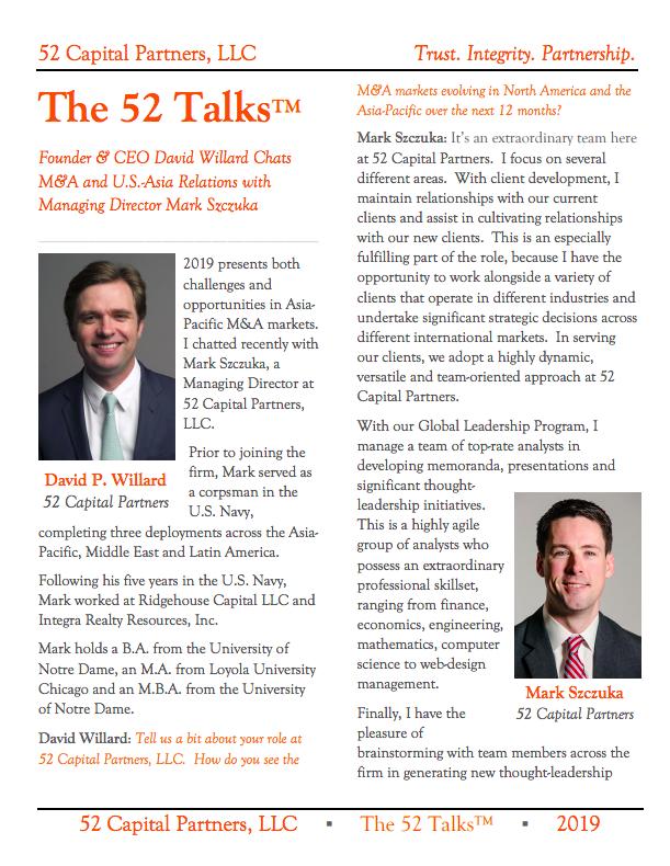 The 52 Talks™: Mark Szczuka