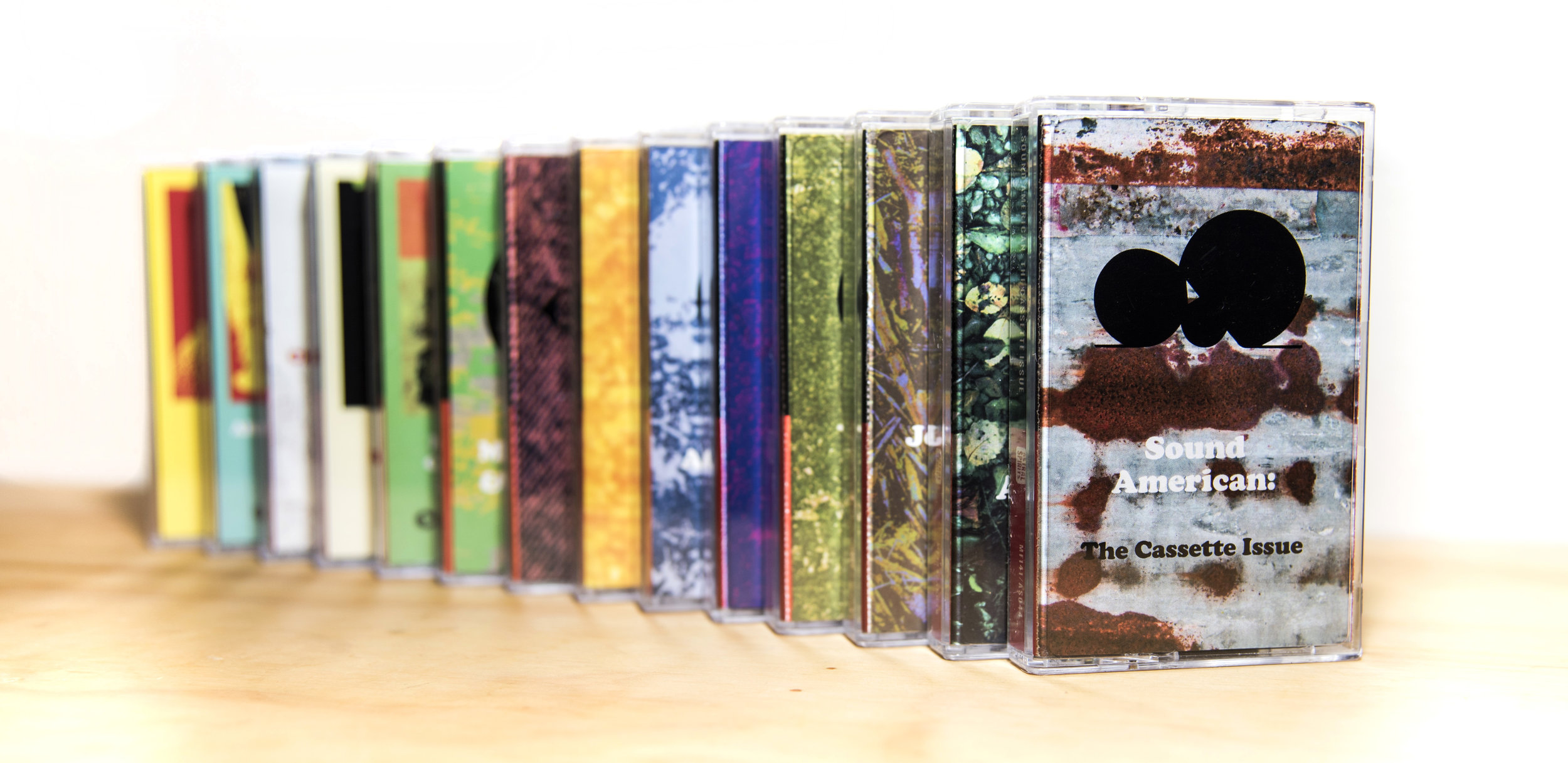 2017 Tape Releases. Photo by Nick Laroche. Tape design & layout by Mason McFee.