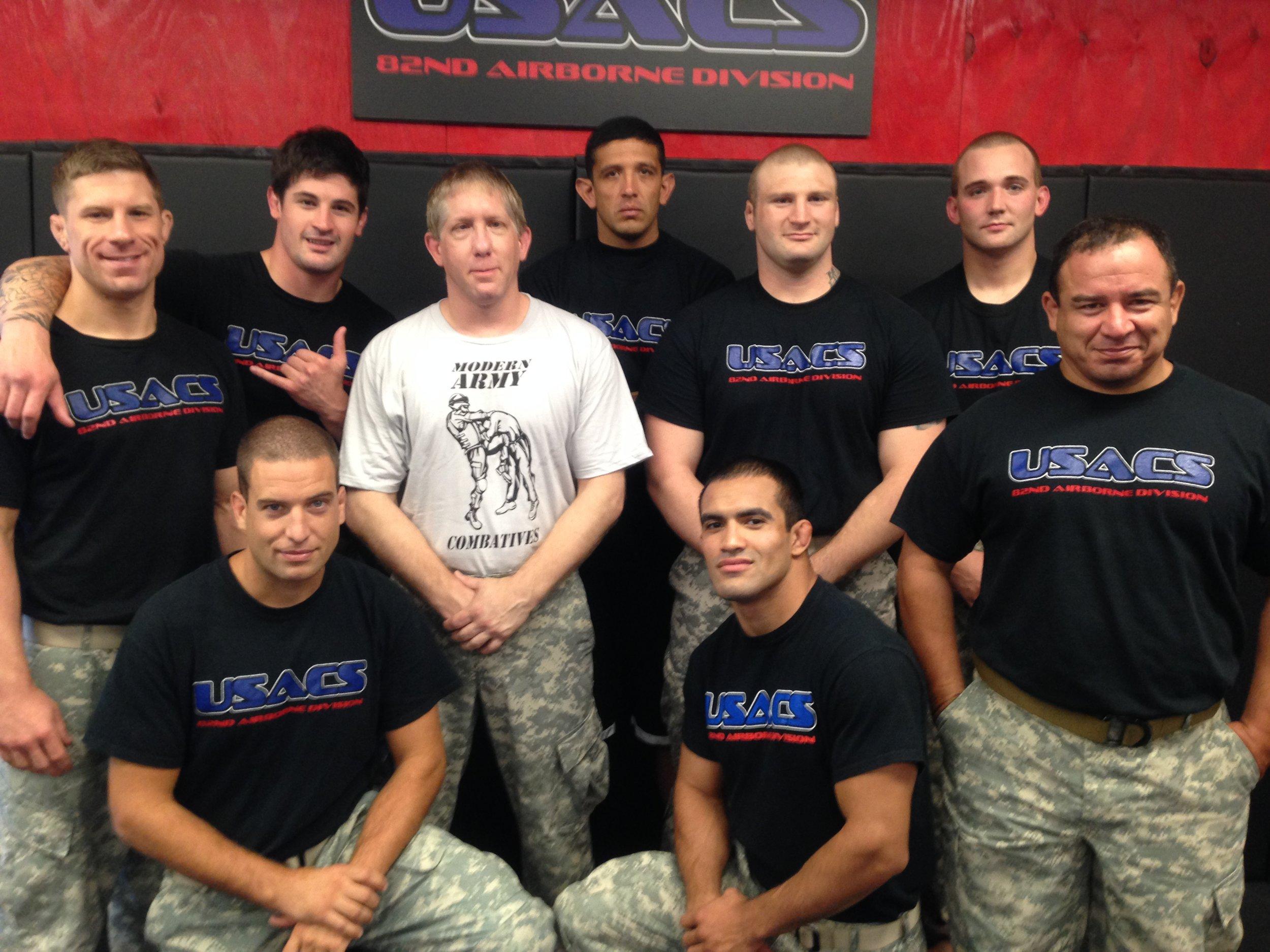 Combatives Instructors lineup.JPG