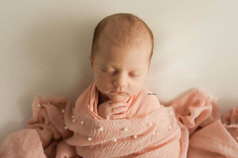 Newborn Baby Girl Metro Detroit Newborn Photographer