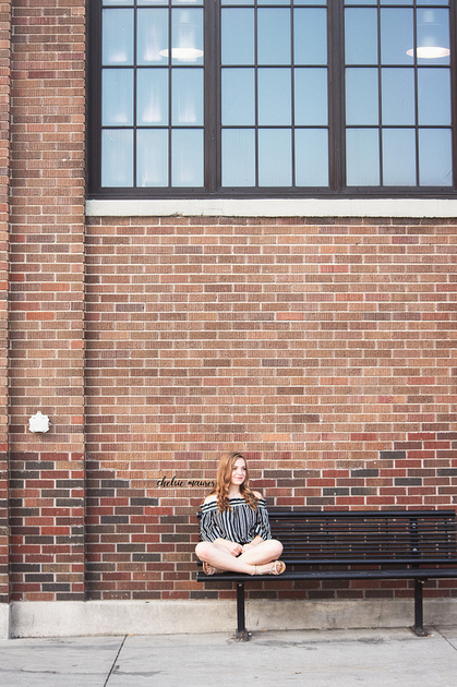 detroit senior portrait photography