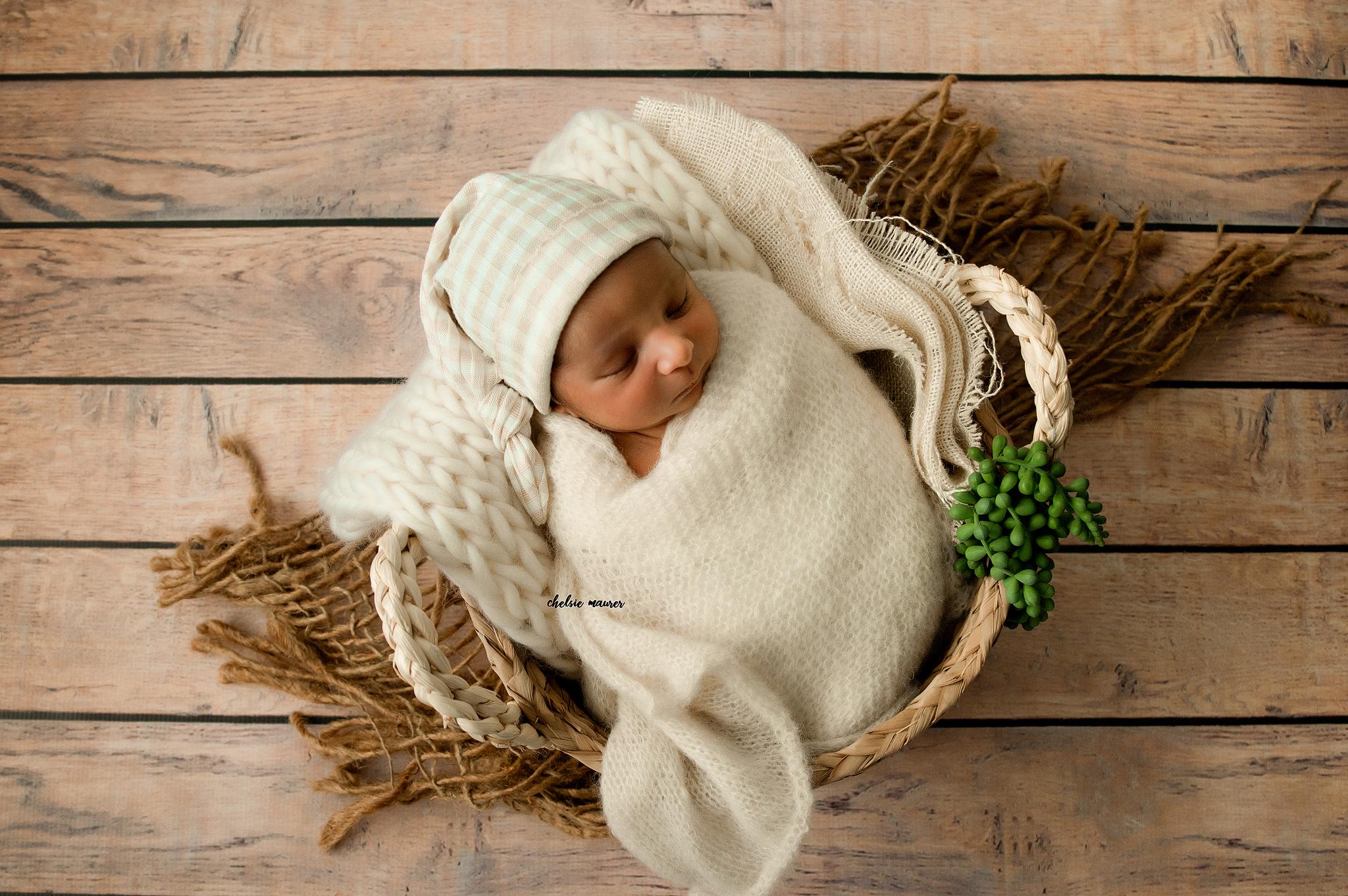 Posed Newborn Picture