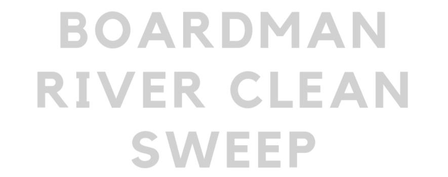 Boardman River Clean Sweep