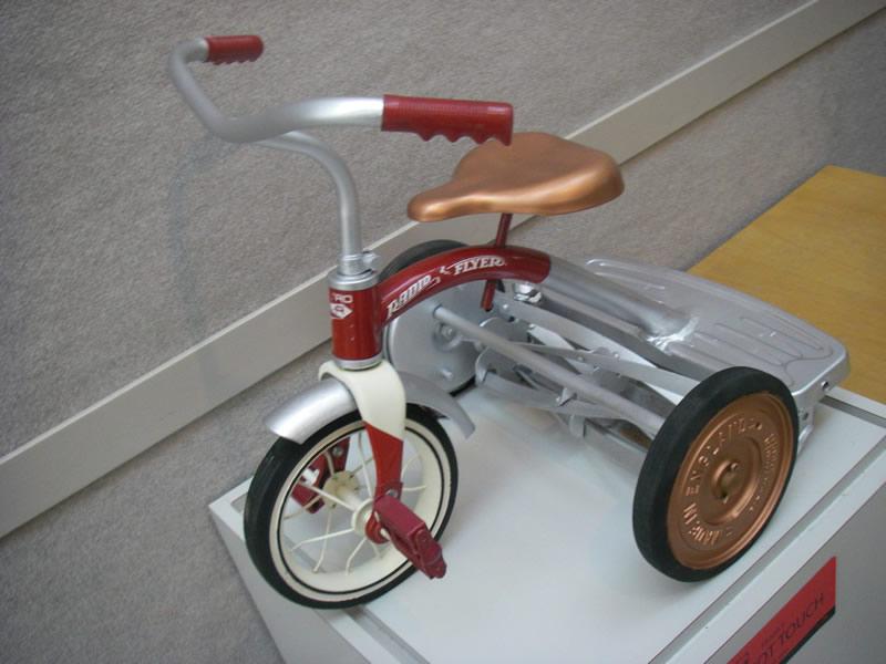 ZZZ lawnmower Trike