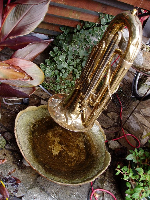 Tuba Fountain