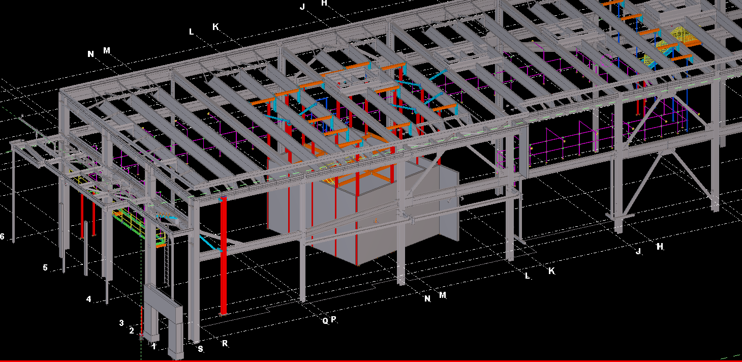 Structural steel, mechanical supports, rails, and catwalks. SIC can handle all of your project requirements.