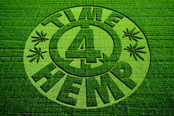 Casper Leitch is the host of Time 4 Hemp. -