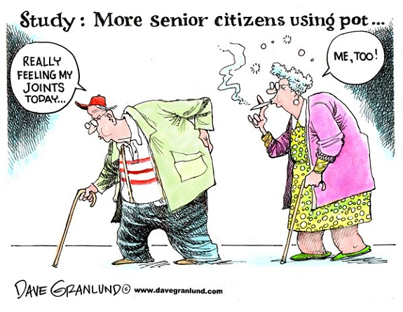 Seniors need cannabis