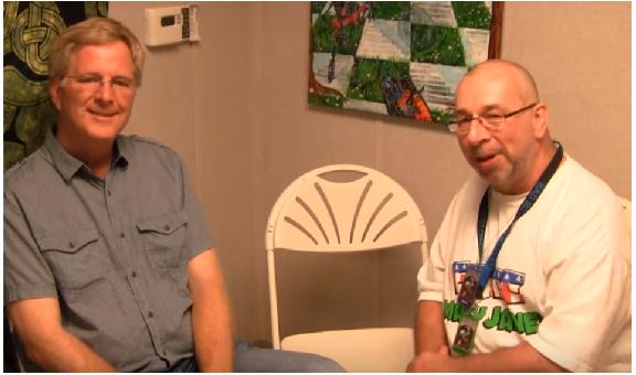 Rick Steves & Casper Leitch -