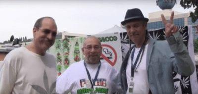 Dr. Robert Melamede, Casper Leitch & Steve DeAngelo. -