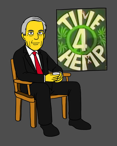 Dr Tim Leary takes Time 4 Hemp.