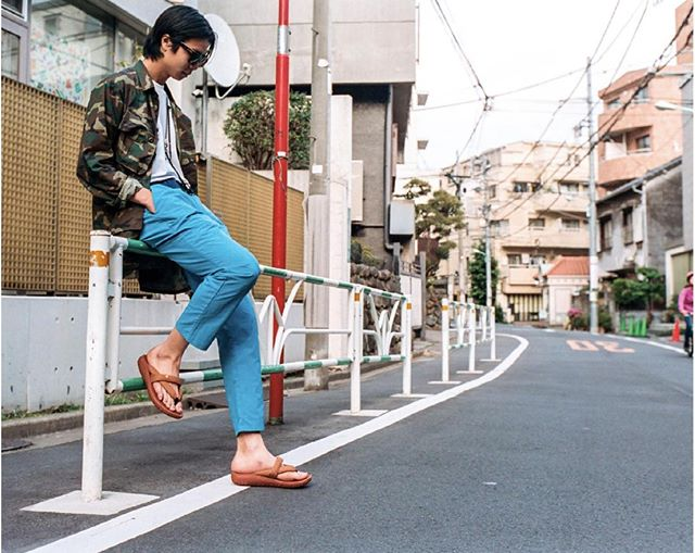 """@hitec_japan is always forward thinking with their sandals. Check out the """"Shibuya Crossover"""" editorial on @highsnobiety #FindYourView"""