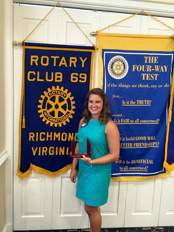 rotarian of the year, rotary, award, richmond va