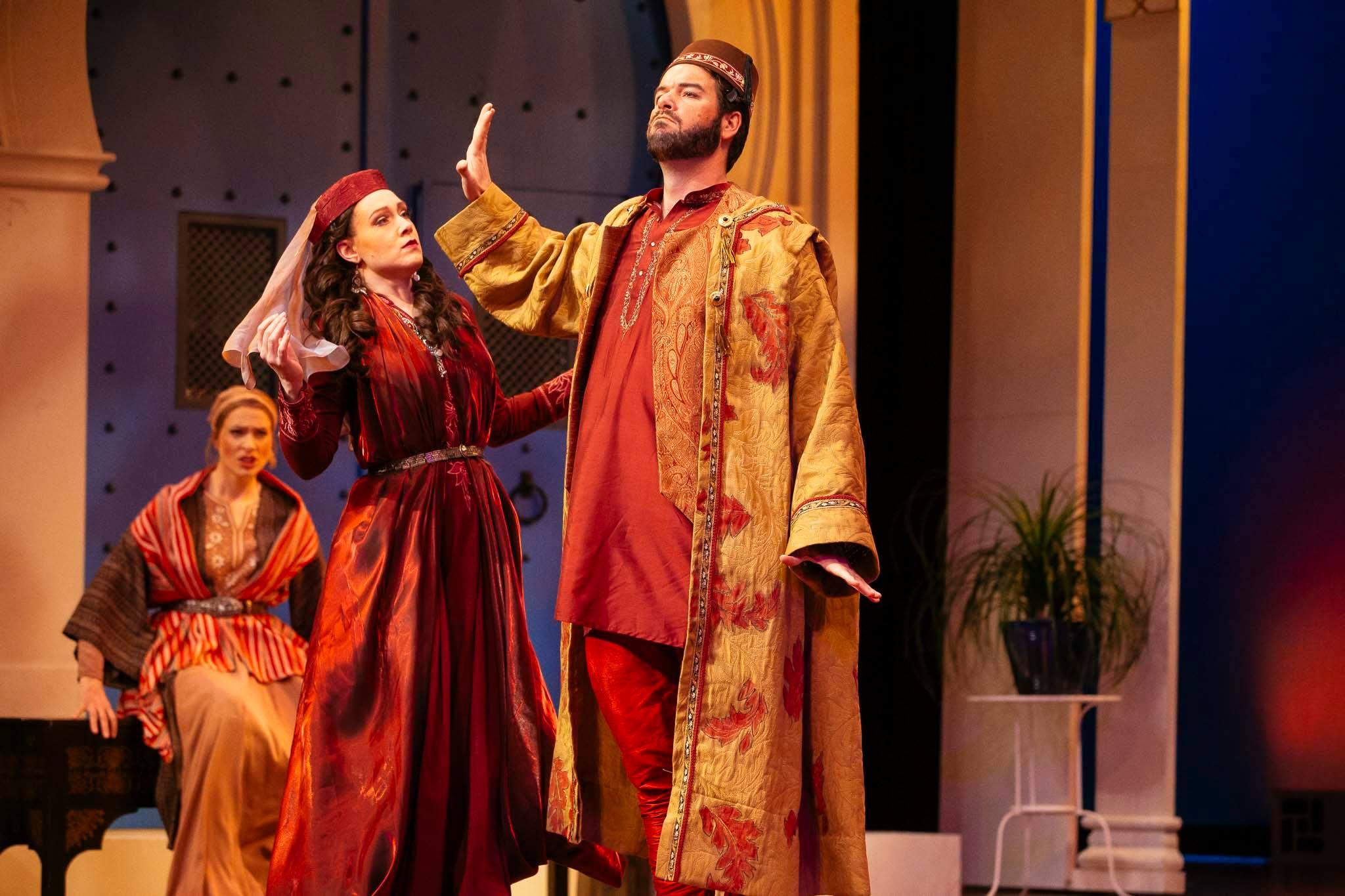 L'italiana in Algeri - Opera Memphis 2018 (Assistant Director) Photo Credit: Ziggy Mack