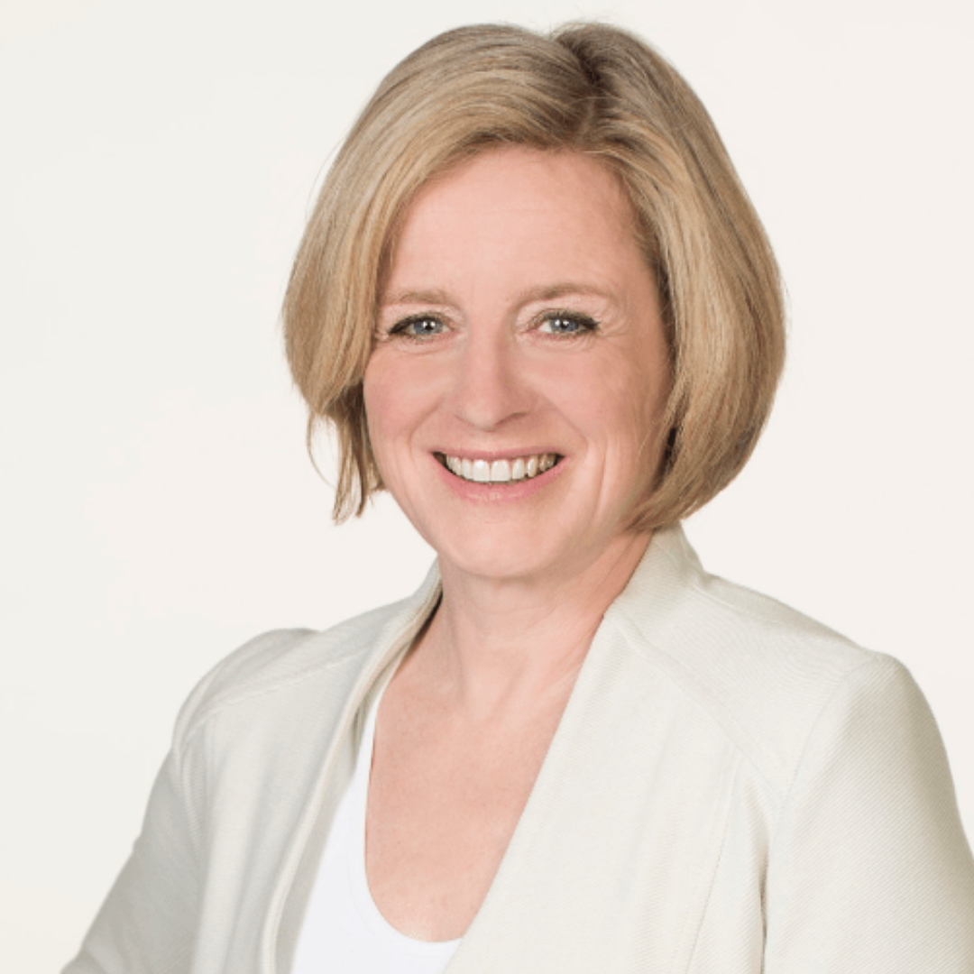 Rachel Notley - Leader of the New Democratic Party (NDP), current premier of Alberta
