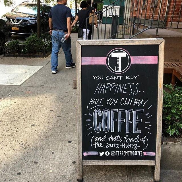 Spoken like a true Monday slayer. #MondayMotivation @Terremotocoffee