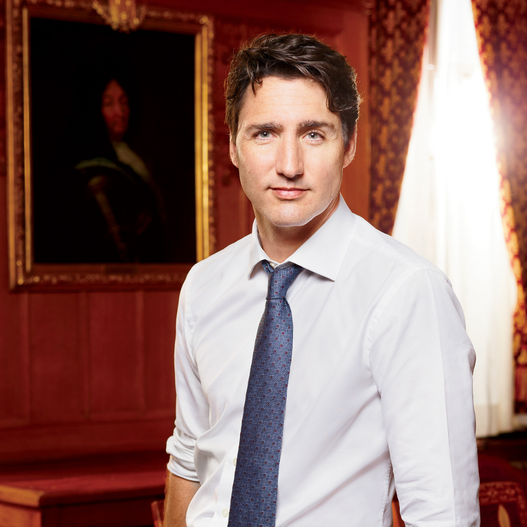 Justin Trudeau - Leader of the Liberal Party of Canada, current prime minister of Canada