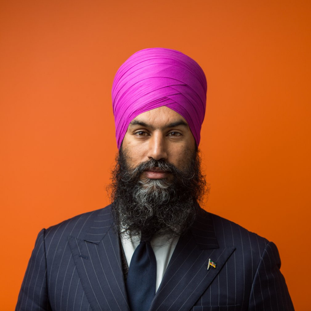 Jagmeet Singh - Leader of the New Democratic Party (NDP)