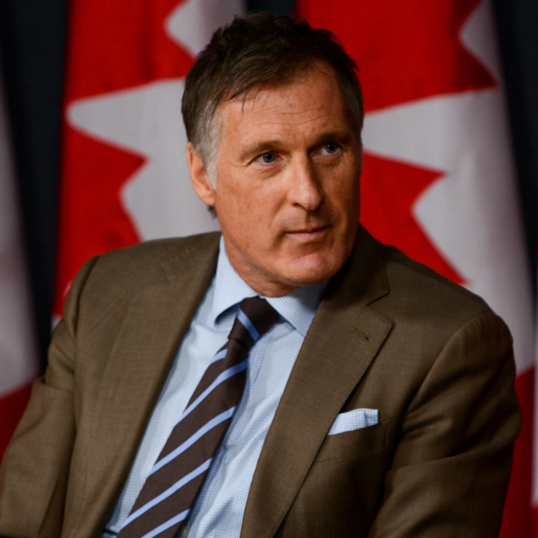 Maxime Bernier - Leader of the People's Party of Canada (PPC)