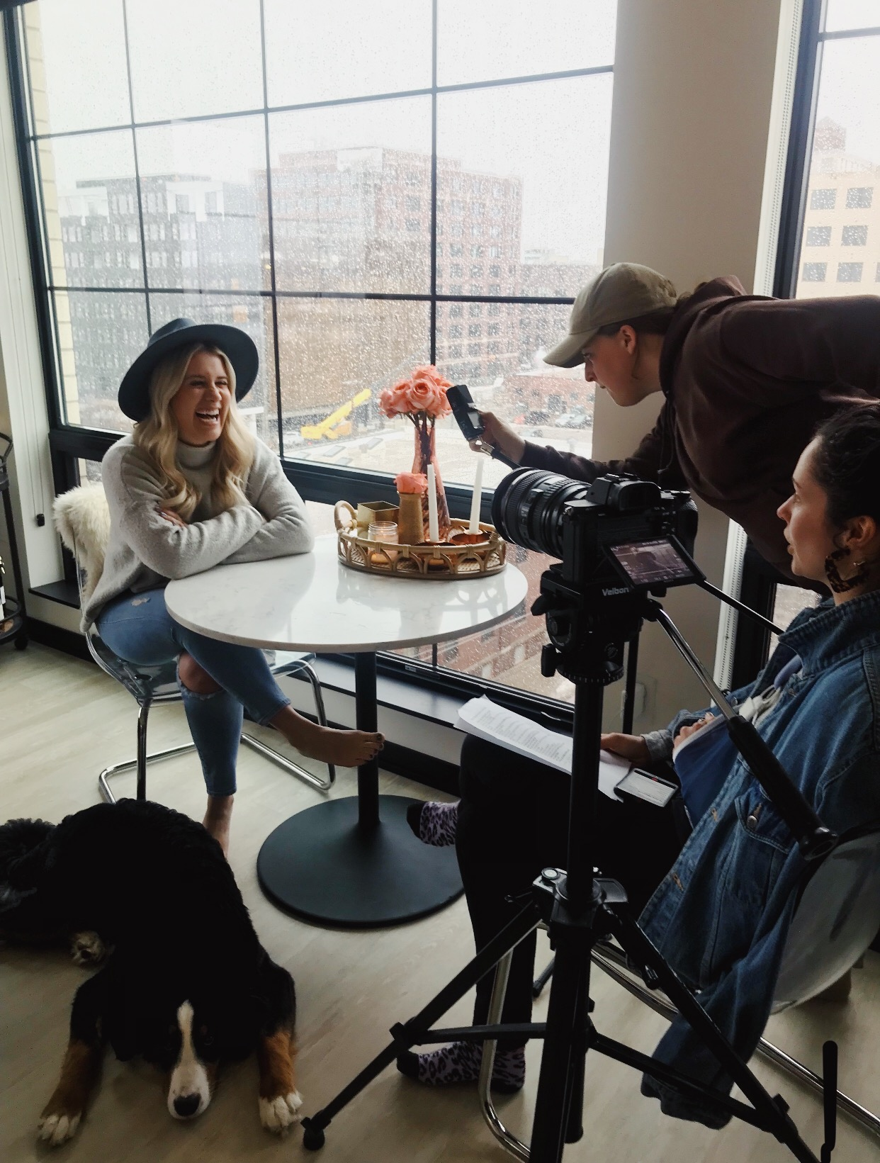 Emma interviews Laura Rae for B.A. Women's Verbal series.