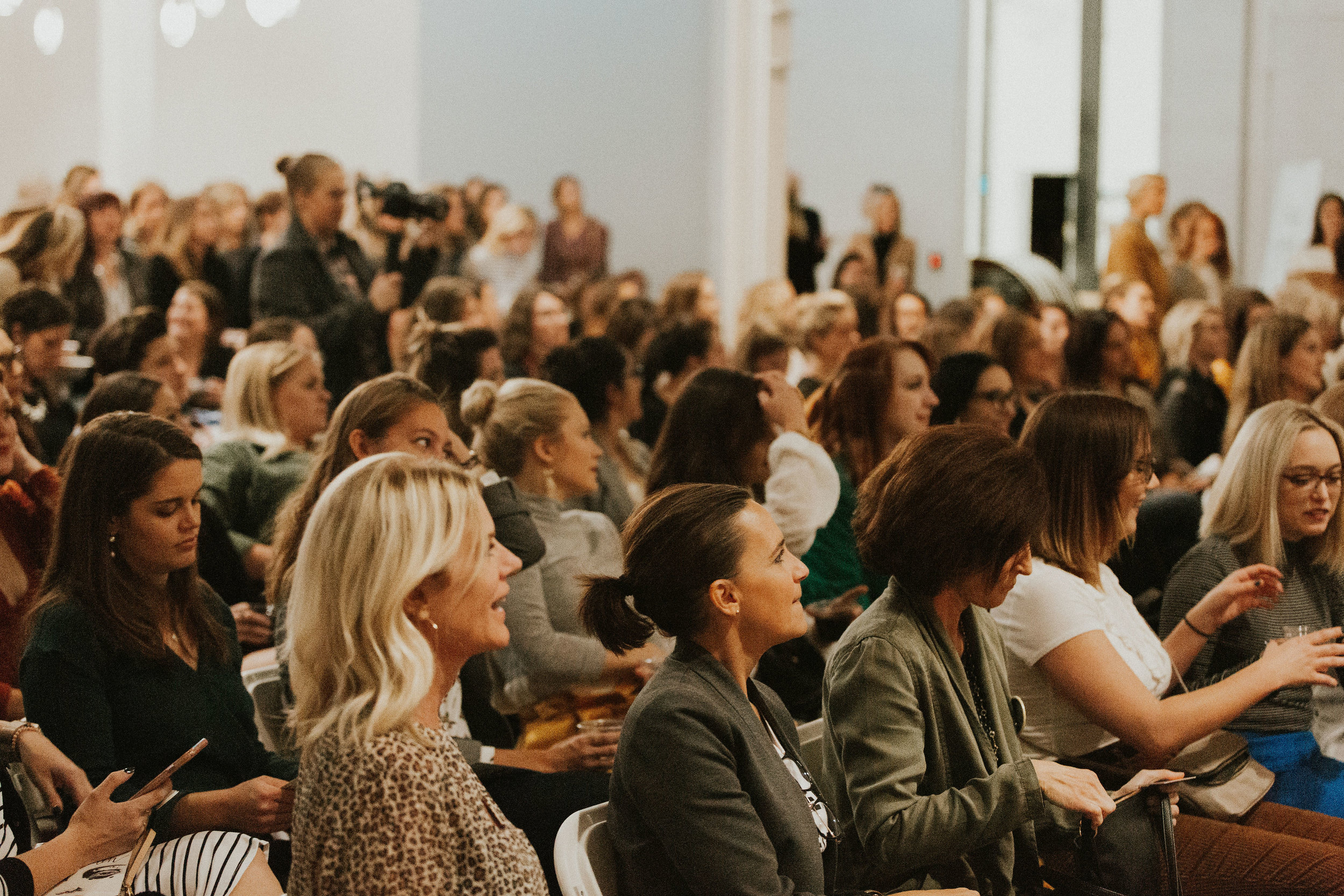 B.A. Women's Fall 2018 event at The Holden Room. Photo by  Nicole Haugen .