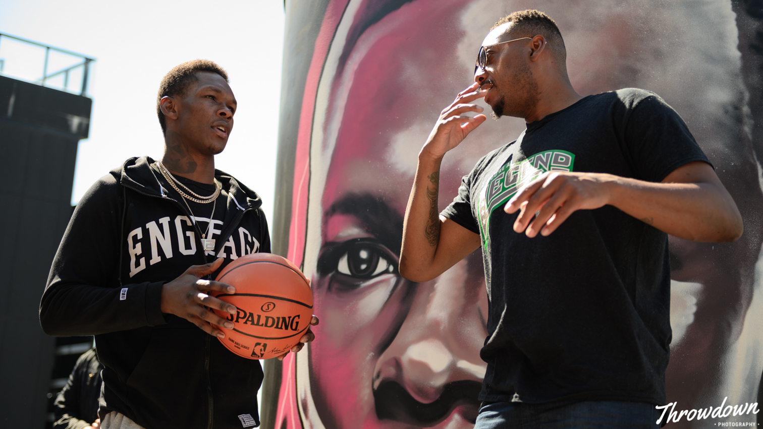 Adesanya and Pierce discuss their athletic careers.