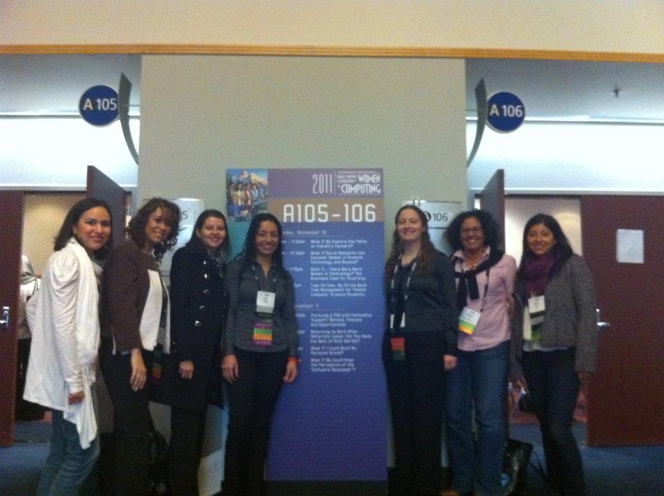 2011: Grace Hopper Celebration for Women in Computing