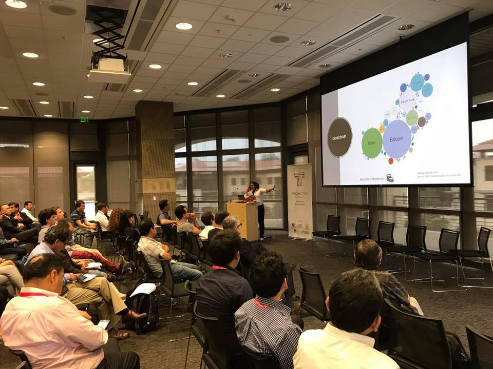 2017: Techsuyo is the first Conference of Peruvians in Silicon Valley and I presented about Blockchain