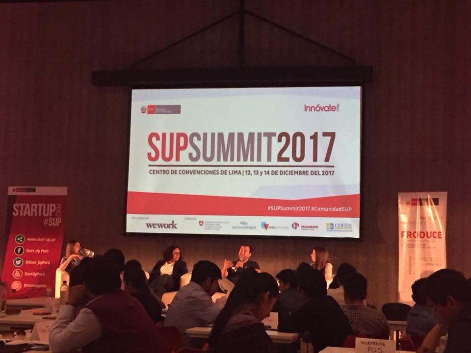 2017: I was part of a Panel about diversity within Startups, as part of the SUPSummit.