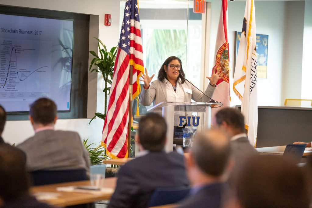 2018: I was the keynote speaker for Blockchain FIU, How we can leverage this technology? at Florida International University.