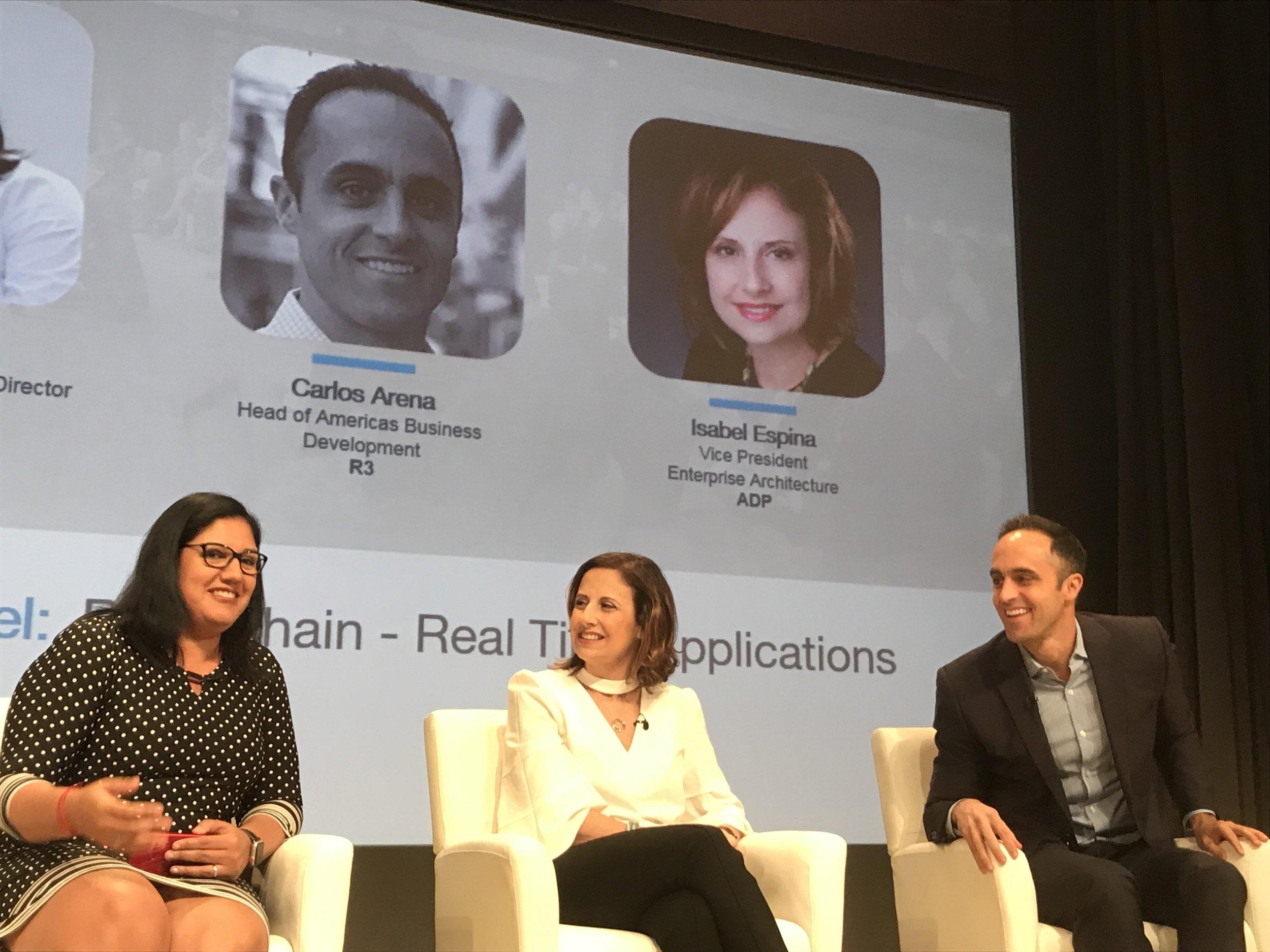 2019: Blockchain: Real Life Applications, HITEC Summit at Bank of America