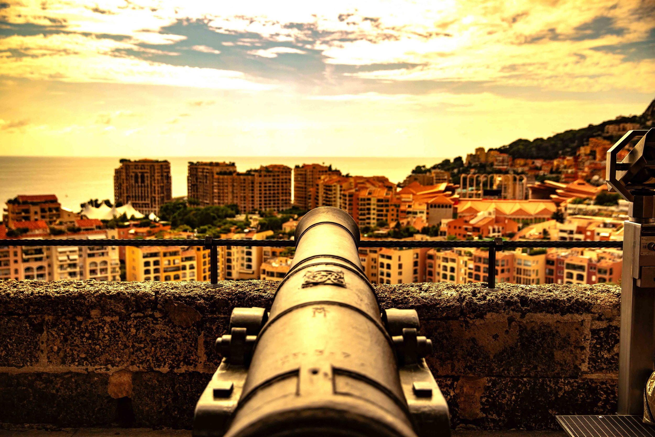 Monaco Sunset, Monte Carlo, Monaco