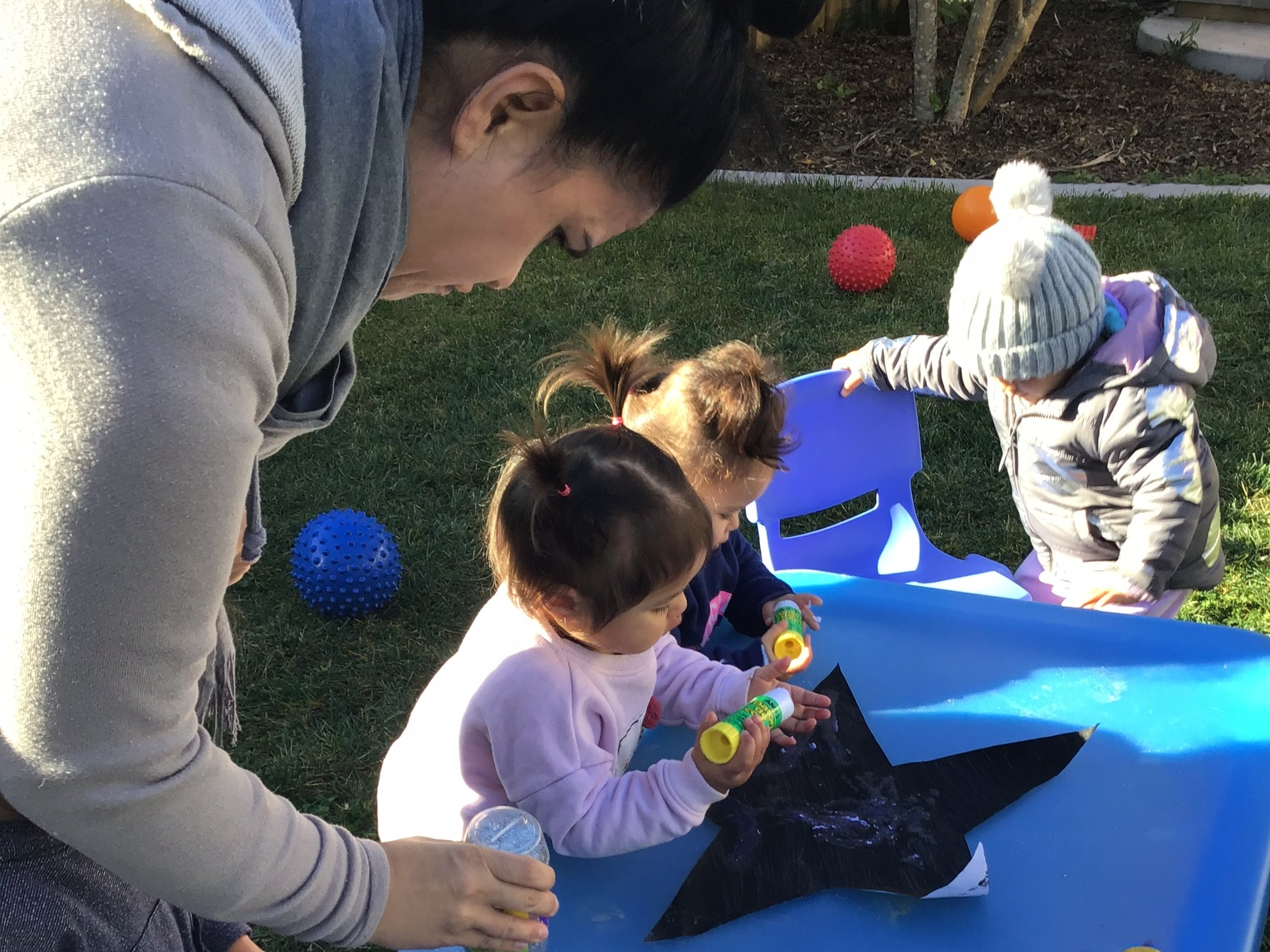 Little Legends Nursery Rooms: - Have an average teacher to child ratio of 1:4 and a maximum group size of 12 – 15 tamariki.