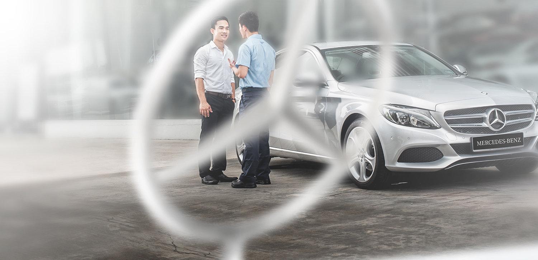 Mercedez Benz Commercial Photoshoot