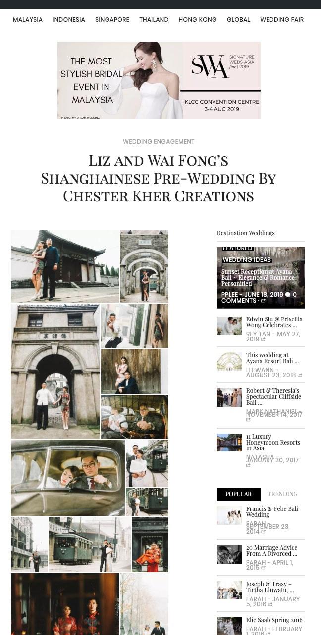 SIGNATURE WEDDINGS - JUNE 2016