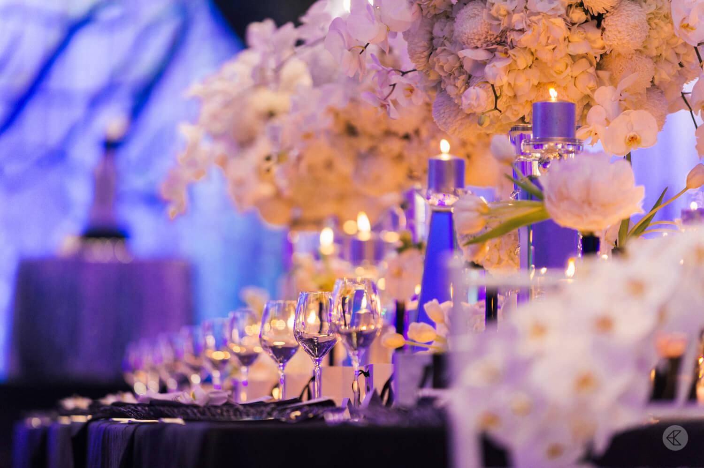Luxury wedding decor