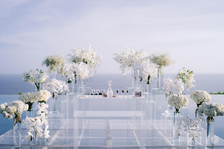 Wedding decor by Tea Rose