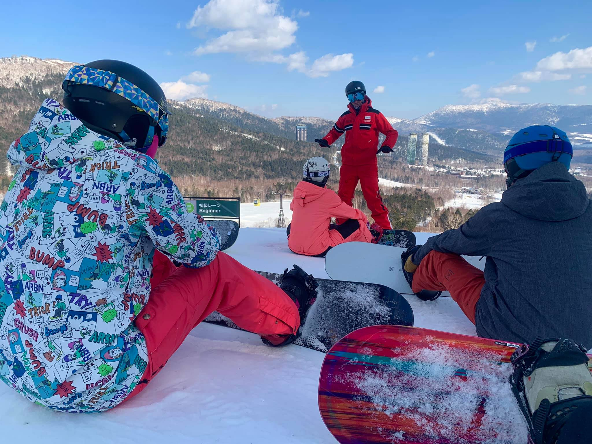 SNOWBOARD LESSONS -