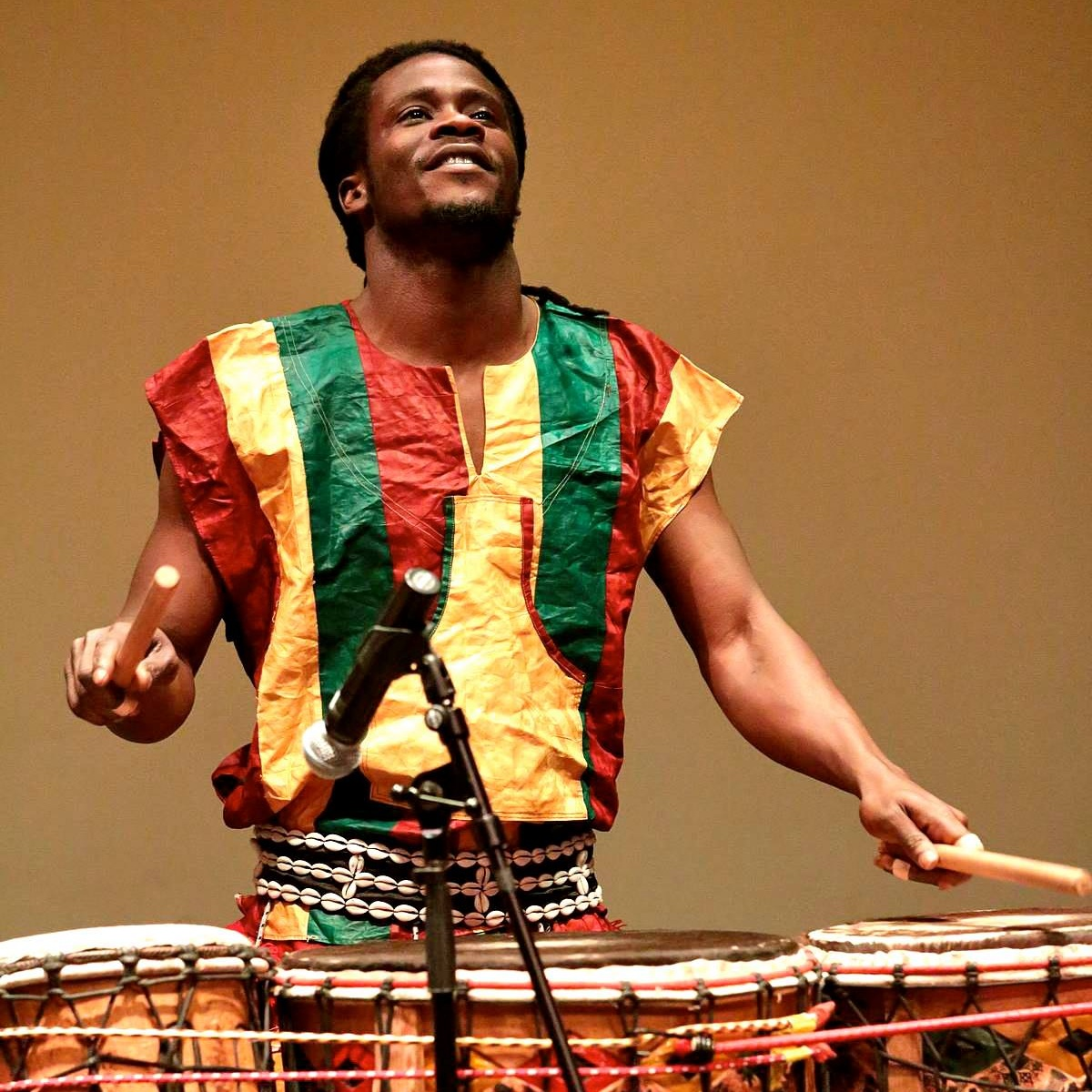 Mohamed Camara - Guinean Master Drummer and Traditional African Musical Performer