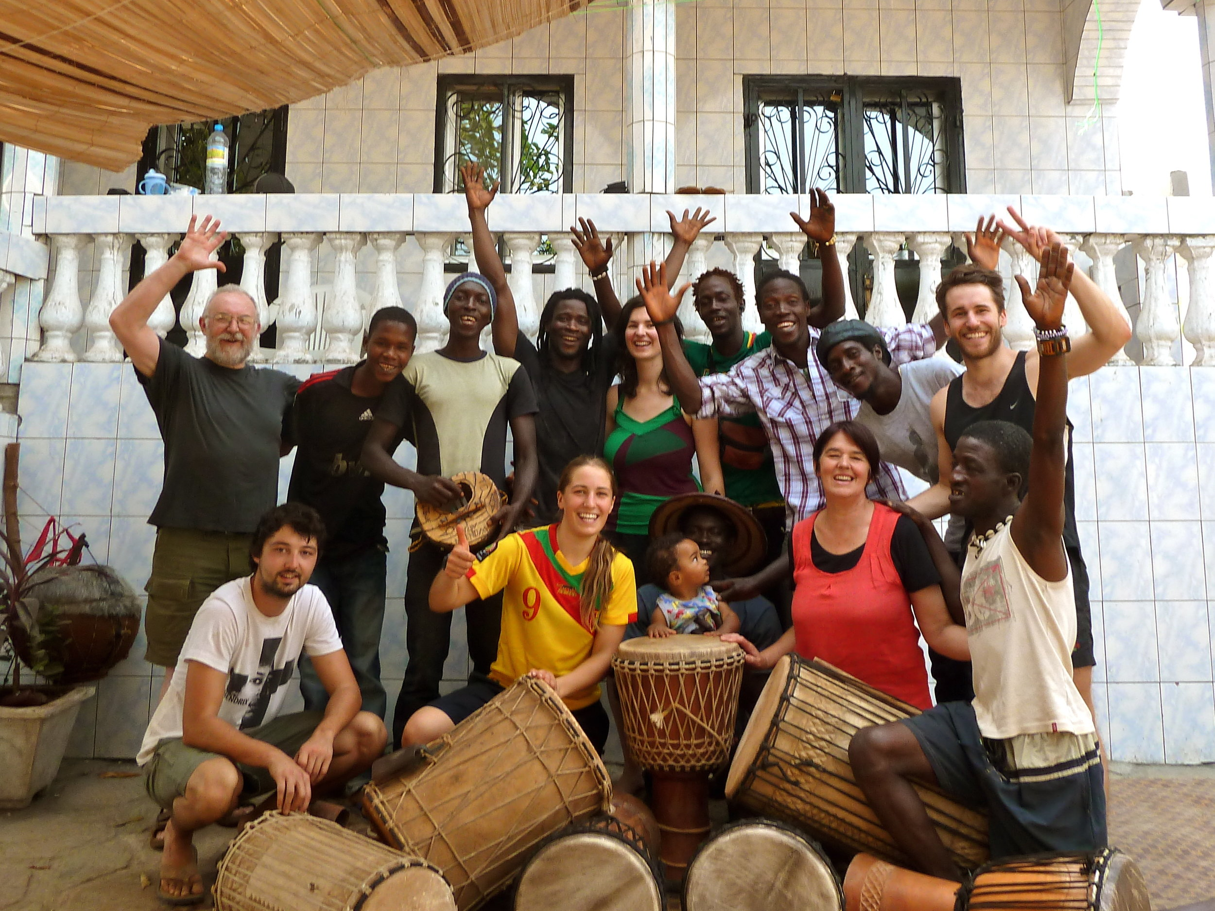 """This was truly a life changing experience! For musicians on any instrument, I guarantee you'll return a far more advanced player by immersing yourself in the diverse and difficult rhythms of West Africa, taught by Mohamed and his team of the finest master drummers. Mo and Anna were amazing hosts, and the cultural day and overnight trips they took us on have become my most valued and authentic travel memories.I was nervous about booking this trip, but as soon as I landed and met everyone I realised it was the best decision I had ever made, so don't question yourself - just do it!"" - – Dave T."