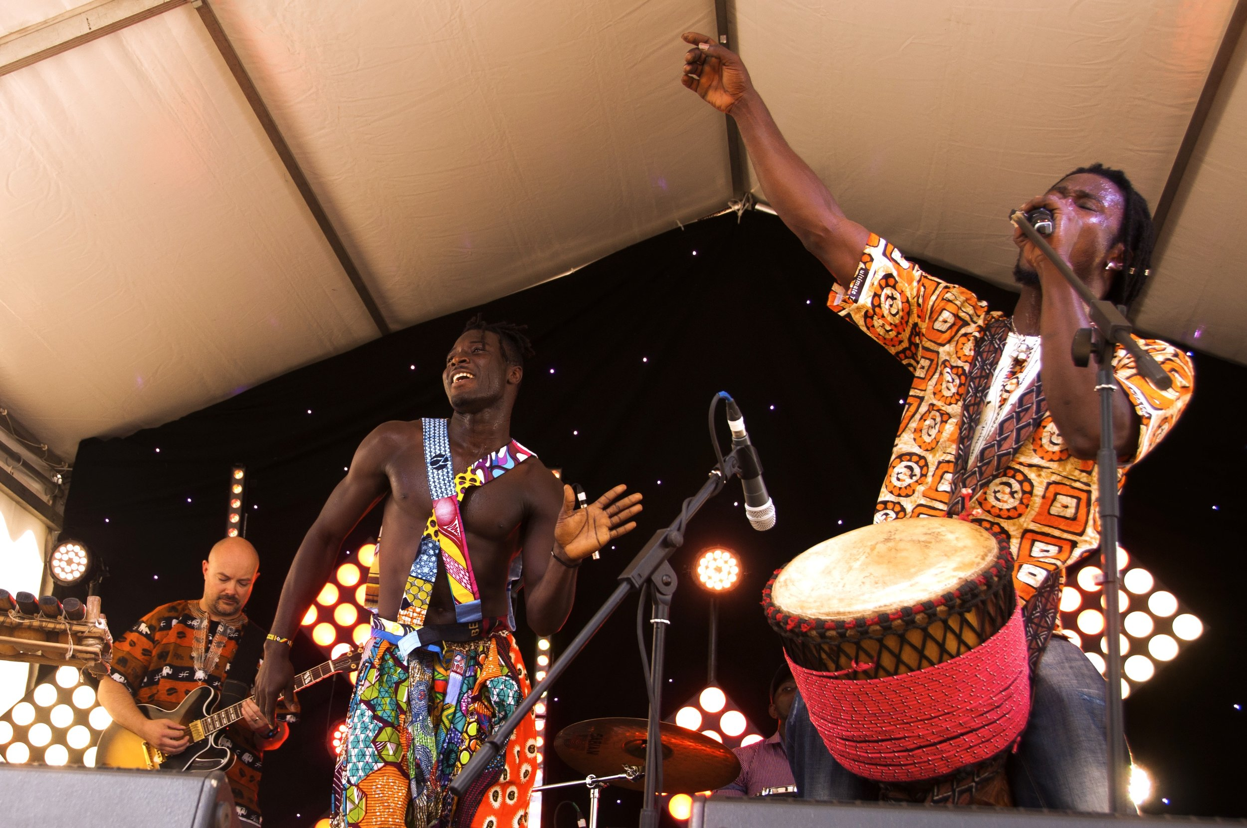 Jarabi presents… - a vibrant blend of both contemporary and traditional music and dance from Guinea, West Africa. We'll take you on a journey from the ancient Manding Empire to modern city life!