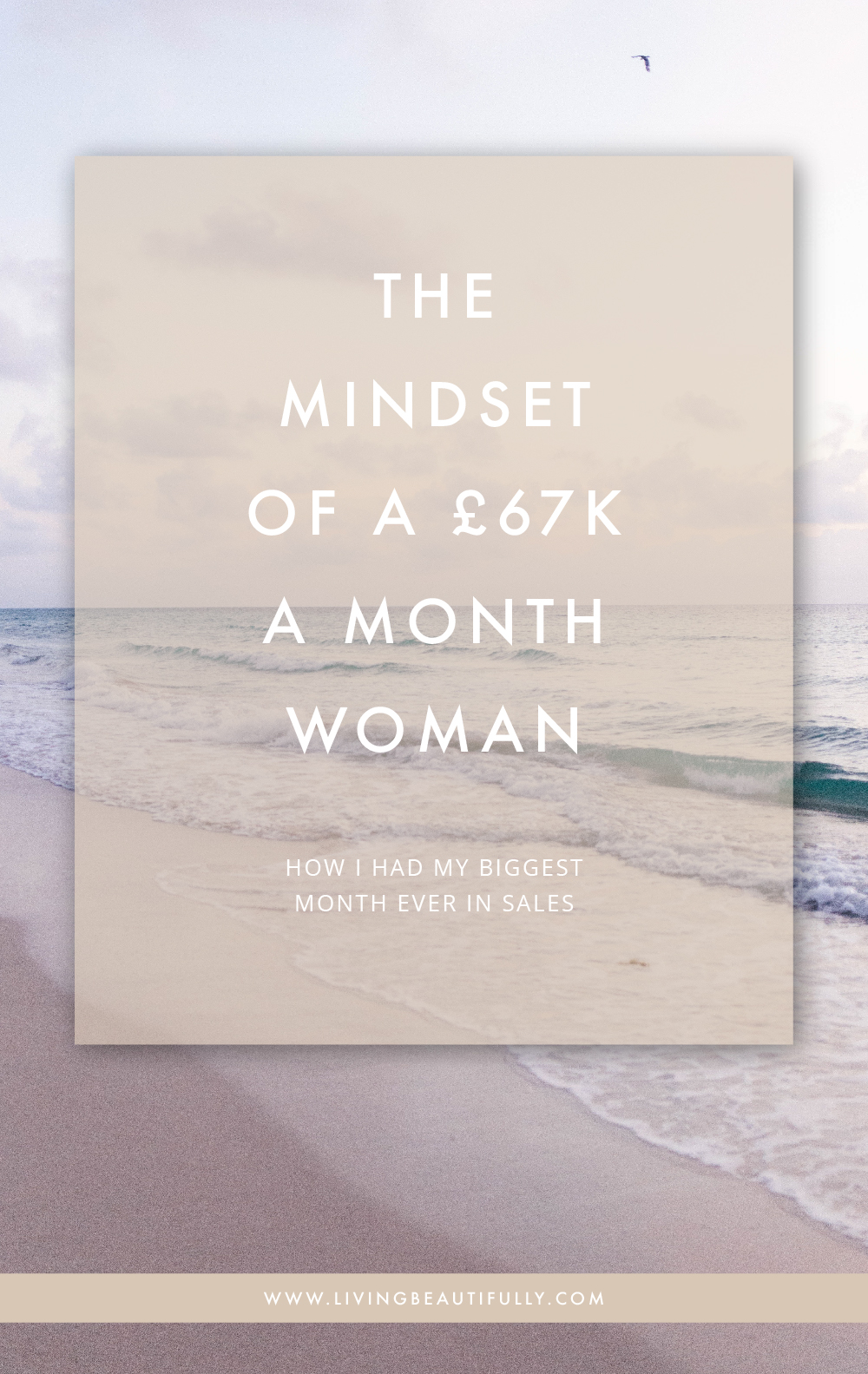 The Money Mindset of a £67k a month Woman