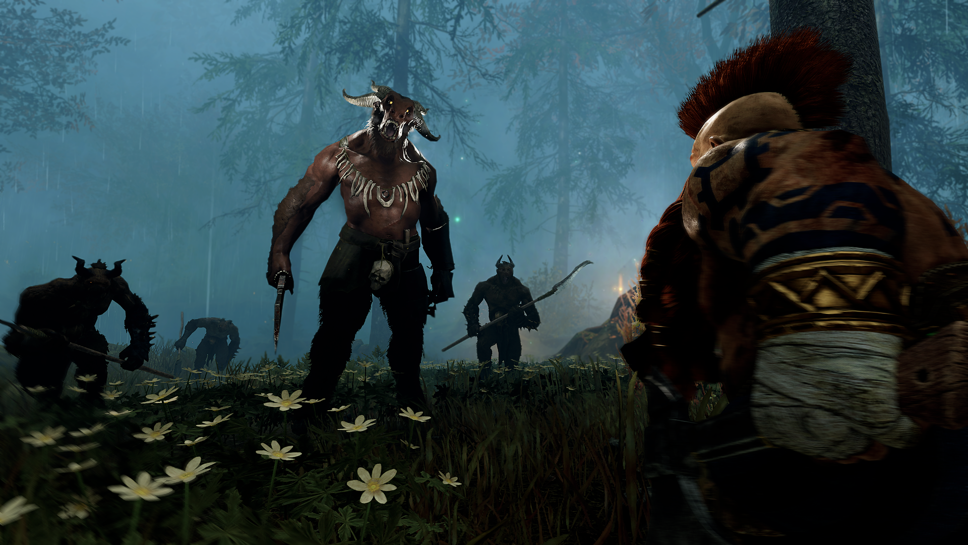 NEW ENEMY FACTION: BEASTMEN - As grotesque hybrids of humans and beasts the Beastmen have the intelligence of a man and the cunning of wild animals. These savage warriors embrace Chaos willingly and will show no compassion or nobility. With profound malice for order and reason, these Children of Chaos want to end the world in bloody carnage.