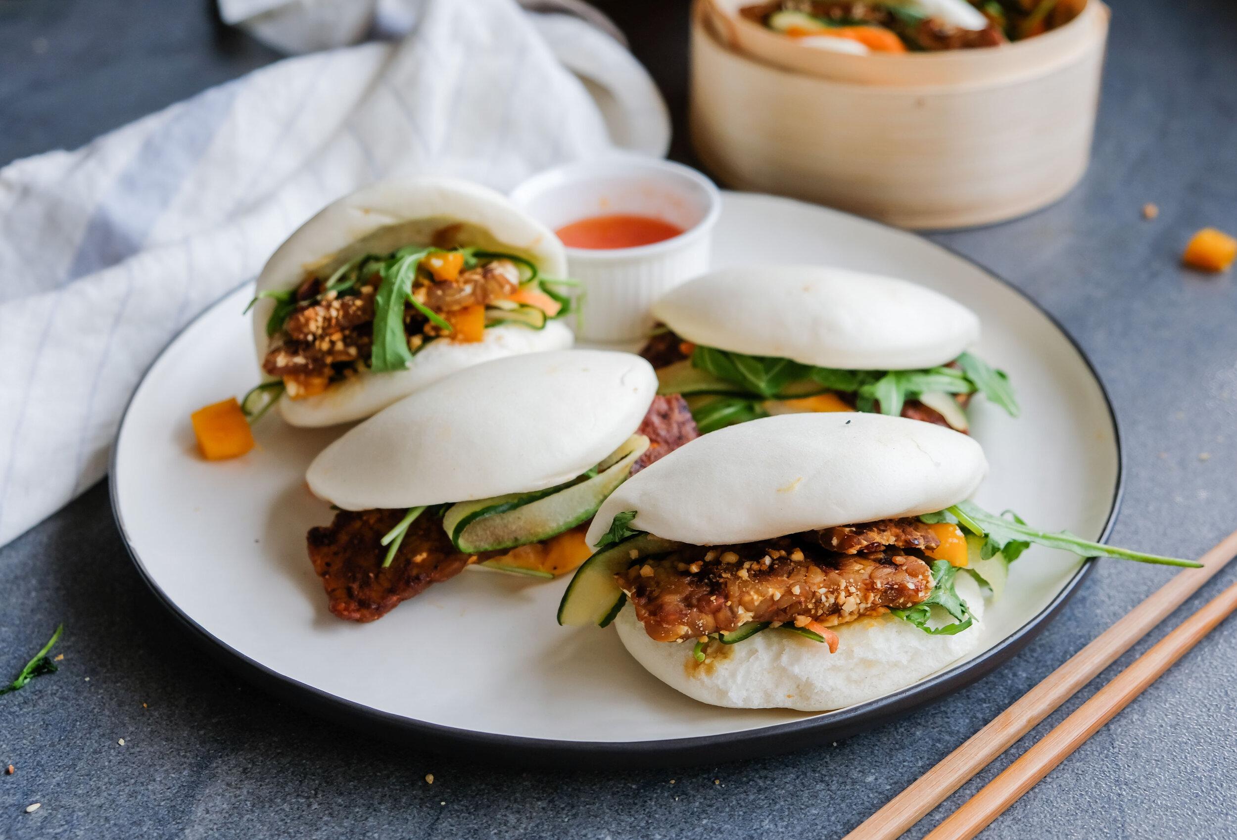Tempeh bao buns… mmm anyone else hungry?