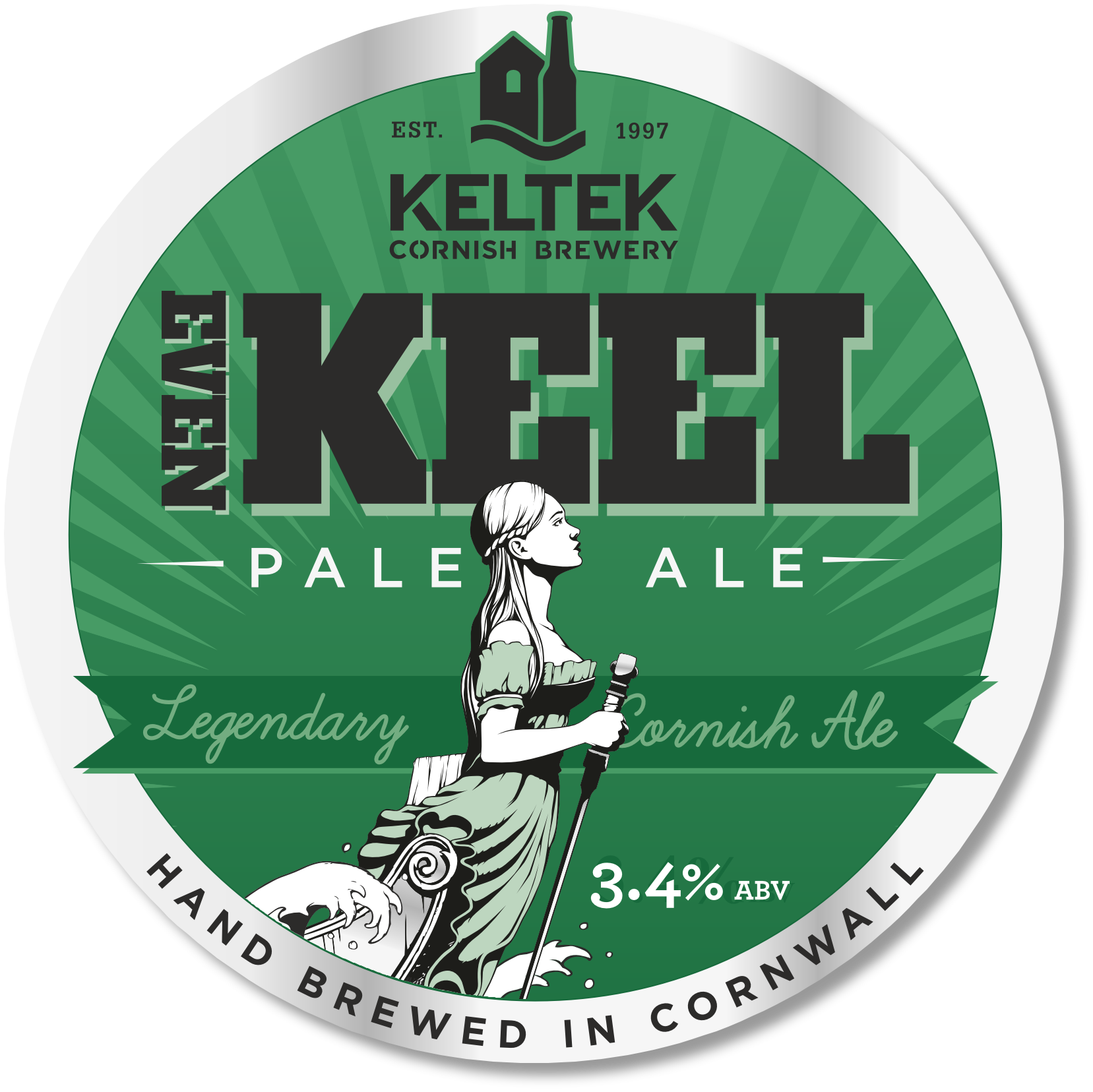 Even Keel 3.4% - A refreshing pale ale with a fruity yet malty first impression, followed by a hint of tangerine with gentle bitterness. Surprisingly long on the palate for a lower gravity beer. Taste of the West Silver Award Winner.