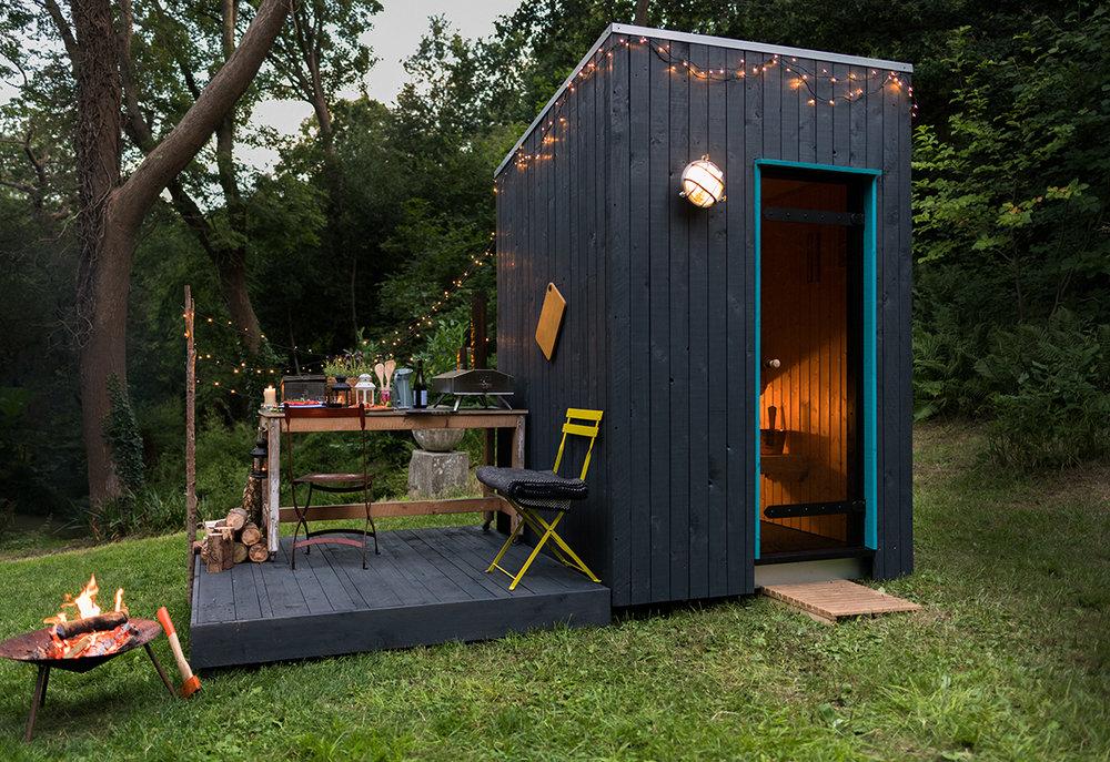 Domestic Outdoor Sauna Build 1862, How To Build A Outdoor Sauna